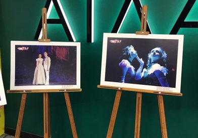 Открытие выставки, посвящённой мюзиклу «Парижские тайны», на территории Гринвич-Синема