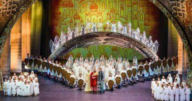 Ансамбль танца «Улыбка» 7 марта выступил на сцене Самарского театра оперы и балета в гала-спектакле «Князь Владимир»